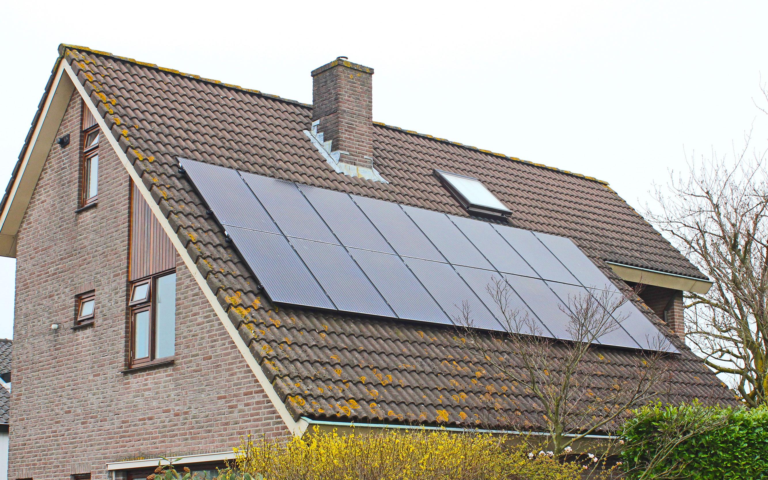 Houten bruist van de schone energie